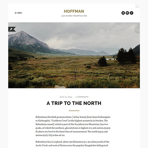 hoffman-wordpress-blogging-theme