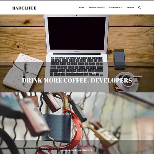 radcliffe-wordpress-photography-theme