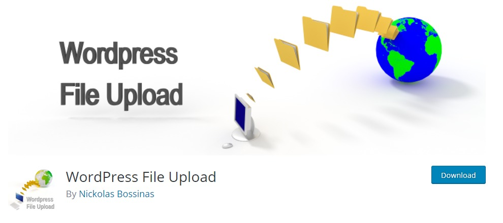 WordPress File Upload file upload plugin