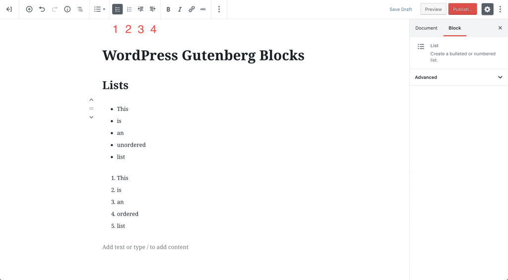 gutenberg-blocks-list