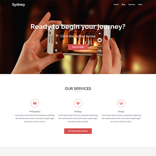 WordPress Travel theme-sydney