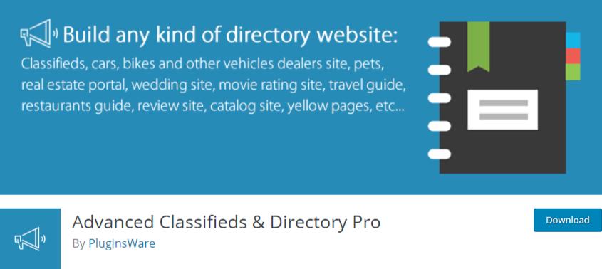wordpress business directory plugin - advanced classifieds