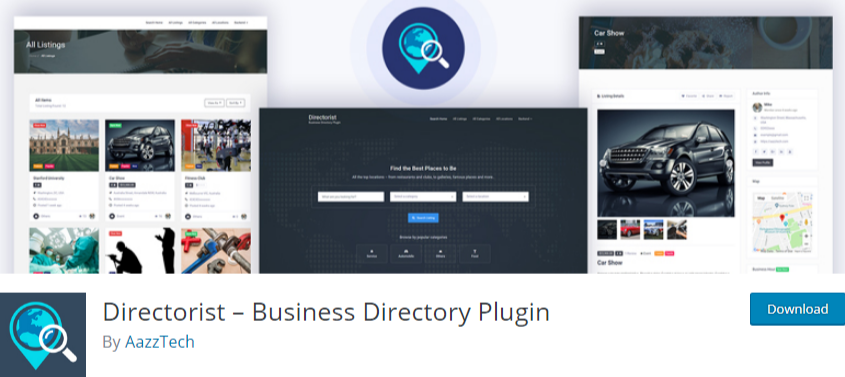 Wordpress Business Directory Plugins