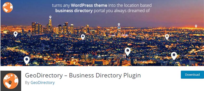 wordpress business directory plugin - geodirectory