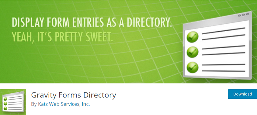 wordpress business directory plugin - gravity forms