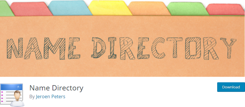 wordpress business directory plugin - name directory