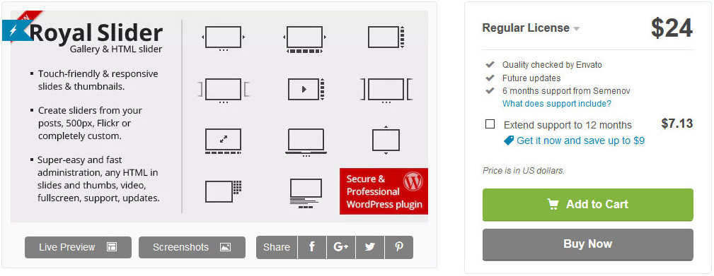 wordpress plugins slideshow header