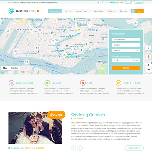 businessfinder-wordpress-directory-theme