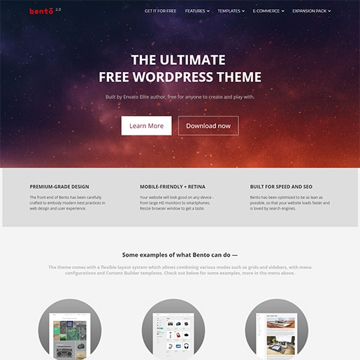 seo wordpress themes bento