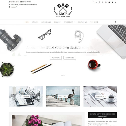 seo wordpress themes edge