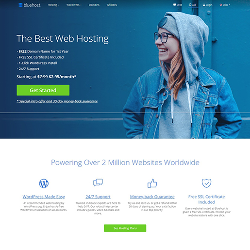 Bluehost Best Website Hosting Services Secure Reliable Hosting