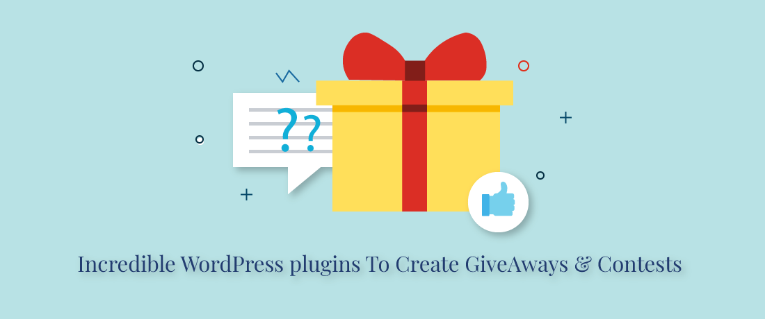 Incredible Free WordPress Plugins To Create Giveaways and Contests 2020