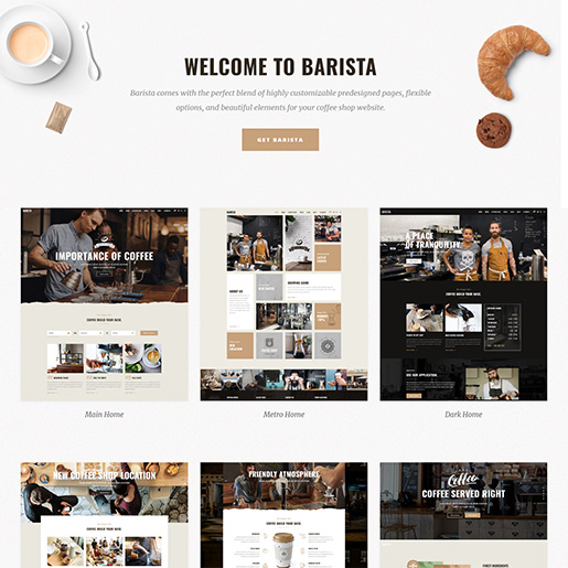 bar wordpress theme - barista