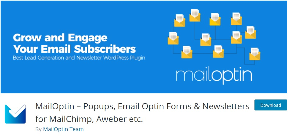 mailoptin wordpress newsletter plugins