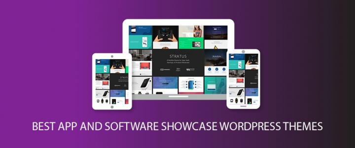 20 Best App and Software Showcase WordPress Themes
