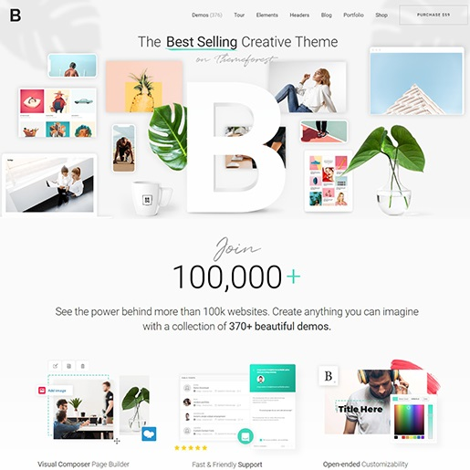 Bridge Best Selling Creative WordPress Theme
