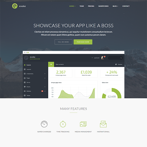 Evoke WordPress Theme