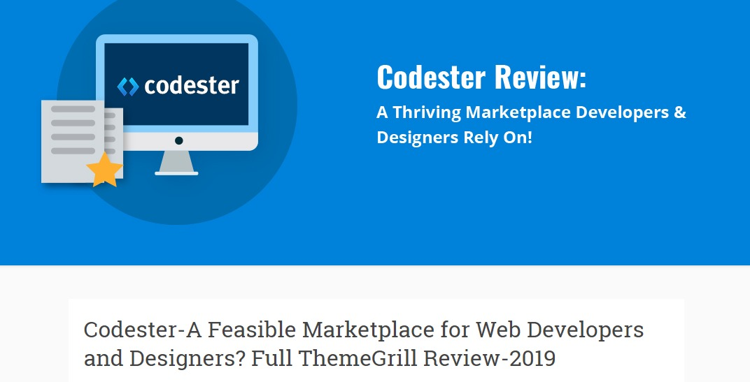 Full Review on Codester Digital Marketplace for Designers Developers