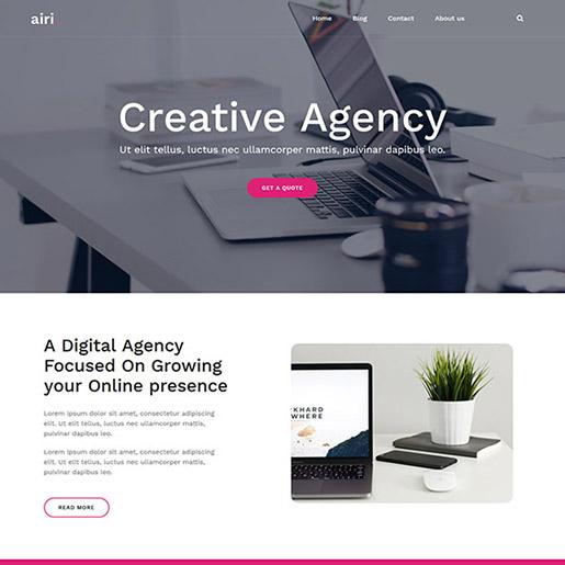 airi-professional-wordpress-theme