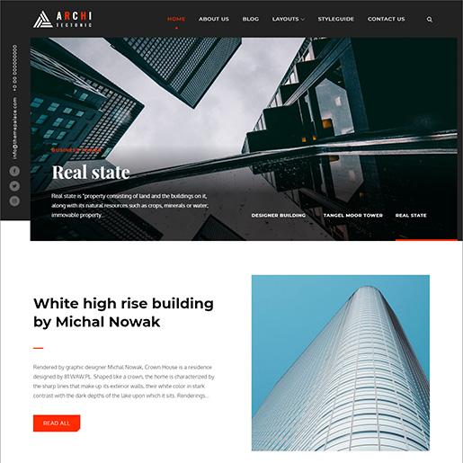 architect wordpress themes - architectonic