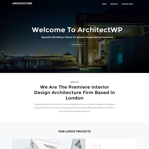 architect wordpress themes - architectwp