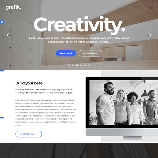 architect wordpress themes - grafik