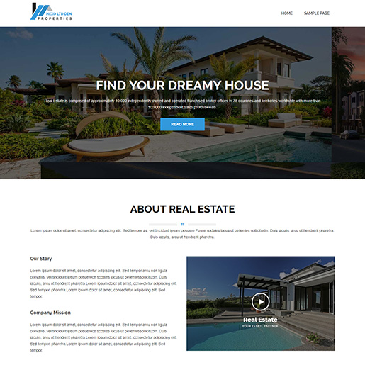 architect wordpress themes - hexo lite