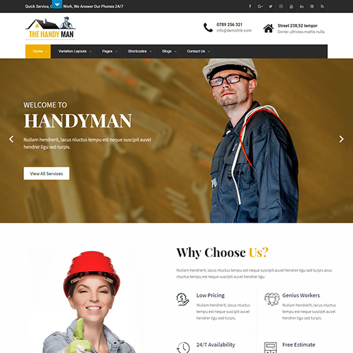 architect wordpress themes - skthandman