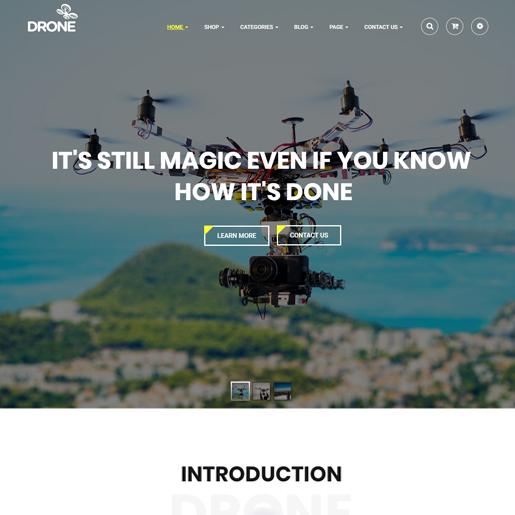 drone wordpress drone themes