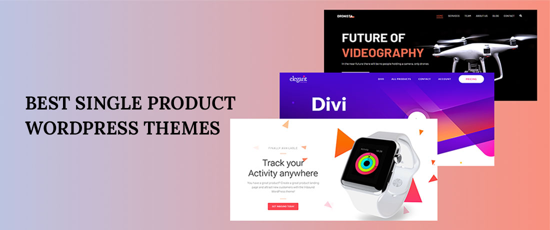 15+ Best Single Product WordPress Themes for 2019