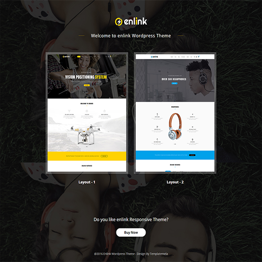 Enlink Single Product WordPress Theme