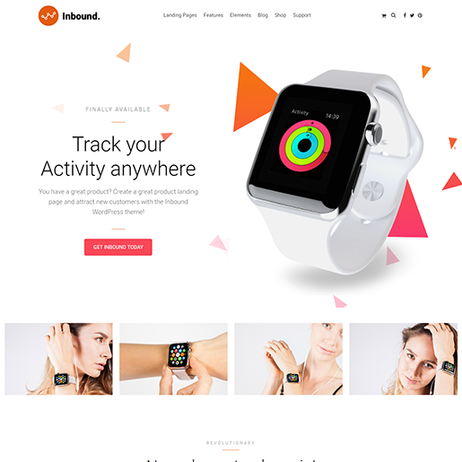 Inbound Single Product WordPress Theme