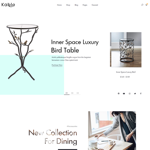 Kable Multipurpose WordPress Theme