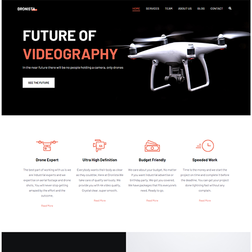 Zakra Single Product WordPress Theme