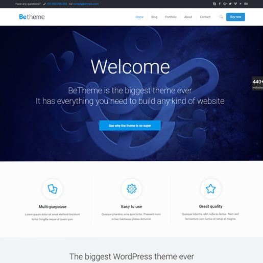 bethemes premium responsive wordpress themes
