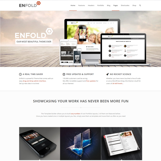 enfold premium responsive wordpress themes