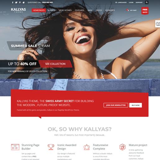 kallyas premium responsive wordpress themes