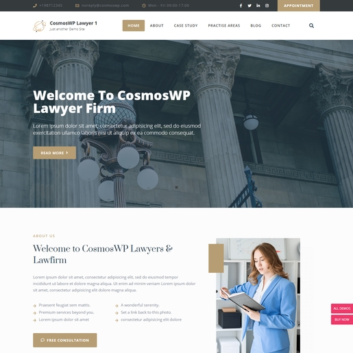 Best Lawyer WordPress Theme