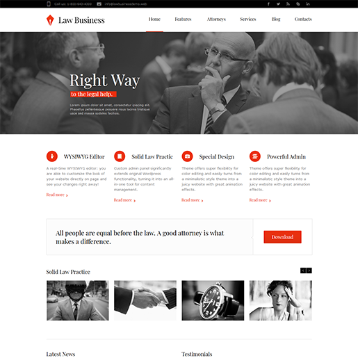 LawBusiness-WordPress-Lawyer-Theme