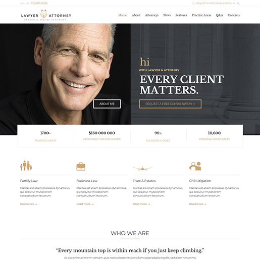 Lawyer&Attorney-WordPress-Theme