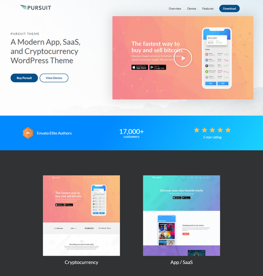 Pursuit Multipurpose WordPress Theme