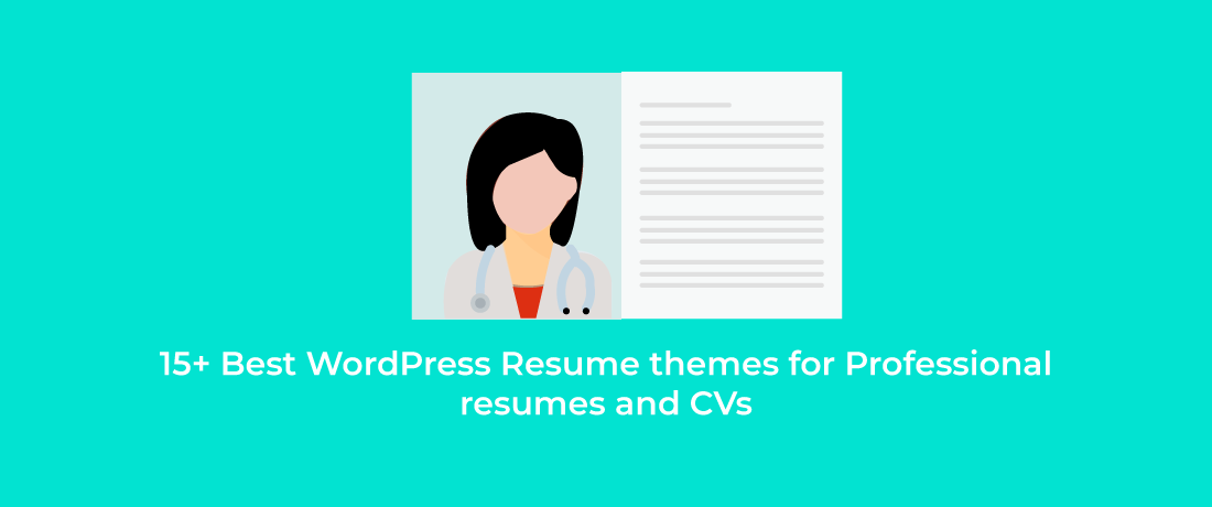 15+ Best WordPress Resume themes for Professional resumes and CVs