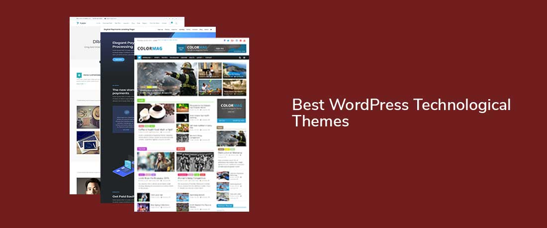 20+ Best WordPress Technological Themes for Tech Startups and Softwares 2019