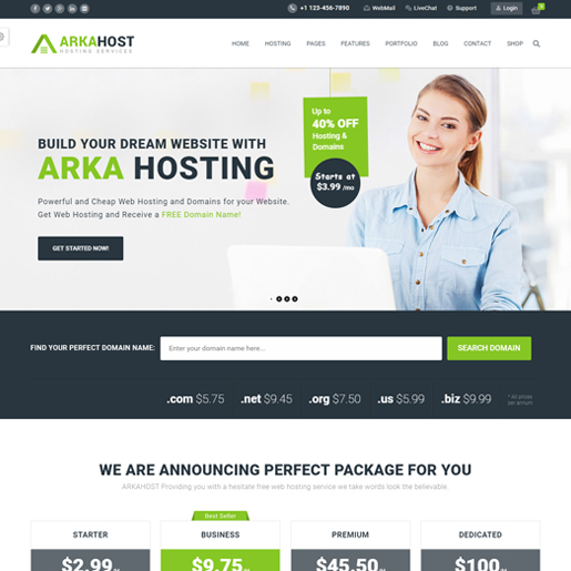 arka-host-wordpress-tech-thema's
