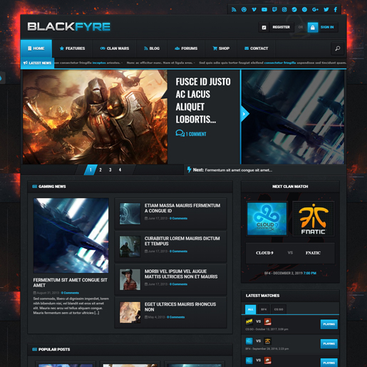 blackfyre-wordpress-technologische-thema's