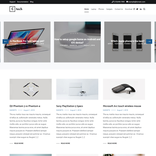 cenote-wordpress-tech-thema's