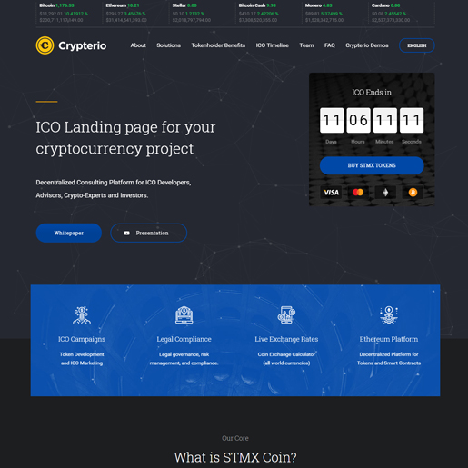crypterio-wordpress-technologie-thema's