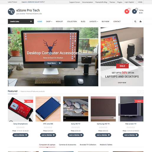 estore-wordpress-technologische-thema's