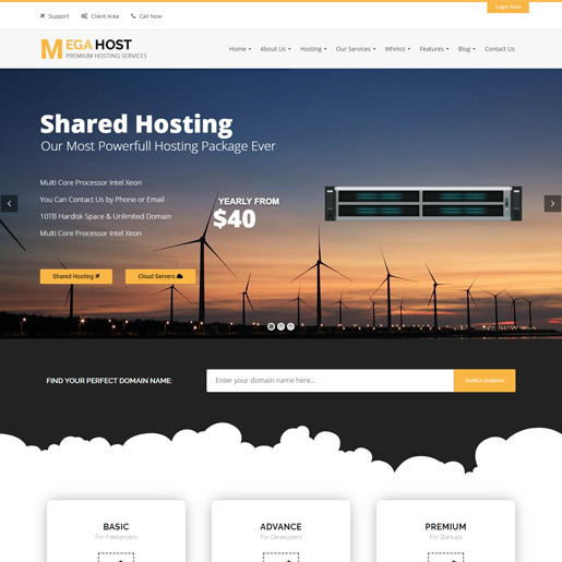 megahost-wordpress-technologie-thema's