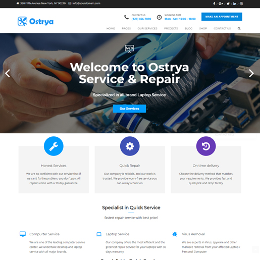 ostrya-wordpress-tech-thema's